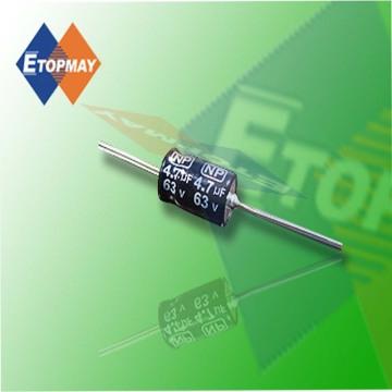 Axial Bi-Polar Aluminum Electrolytic Capacitor Topmay