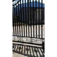 Spear top Puertas de aluminio / diseños principales de la fábrica