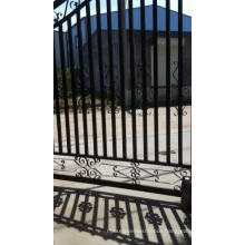 Spear top Aluminum gate / factory main gate designs