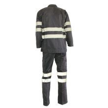 Best Price for for Basic Cotton Work Suit Welder Labour Work Suit with Reflective Tapes supply to Estonia Suppliers
