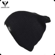 Bonnet en couleur simple tricot acrylique simple