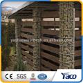 Cerca do jardim, gabion parede de retenção gabião preço de metal alibaba fornecedor de ouro