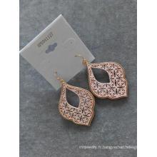 Creux de la boucle d'oreille Style nouveaux bijoux fantaisie