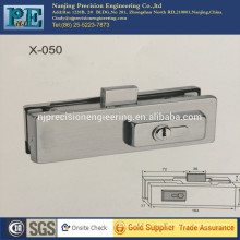high strength OEM stainless steel fabrication locking clamp for glass door