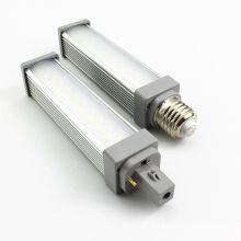 g24 conduziu a lâmpada conduzida 120degree do plc do ângulo de feixe 10.5w do bulbo