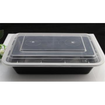 Wegwerfmikrowellen-wegwerfbarer Plastiksuppen-Schüssel-Nahrungsmittelbehälter mit Deckel