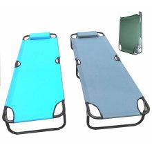 Cama plegable para acampar con bolsa de transporte 600d (SP-170)