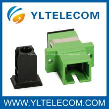 Simplex Adaptateur fibre optique, SC / APC fibre 0,2 dB perte d'insertion adaptateur optique