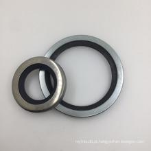 160 * 175,5 * 6.3 PTFE + Bronze Hidráulico Selo Estilo Rod Stepseal