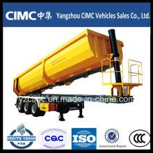 Semi-reboque traseiro para serviço pesado Cimc