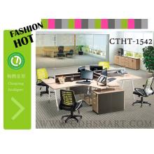 Mesa de escritório ajustável de Altura Manual mesa de metal perna moda & novo estilo