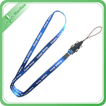Custom Length Standard Size Sublimation Printing Mobile Phone Lanyards