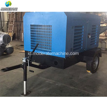 Screw Air Compressor Generator Portable dengan Mesin Diesel