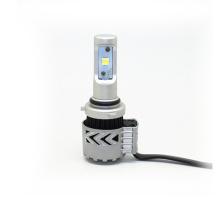 9012 G8 LED faros 6000LM 6500K XHP50 Bombillas de conducción blanco de luces bajas con kits de conversión de ventilador de turbina