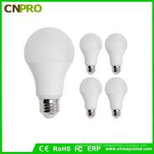 85-265V A60 LED Bulb Light 9W for Repalcing Flurecent Light