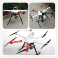 Commercial Drone 800mm Hexacopter 3 Axis Mirroless Gimbal