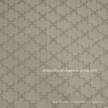 2015 Top Sell 100% poliéster de lino táctil cortina de la ventana