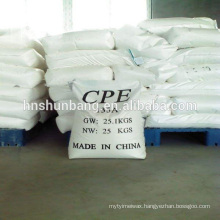 Plastic addtives chlorinated polyethylene impact modifier CPE 135A