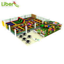 Big+commercial+elastic+trampoline+park+for+sale