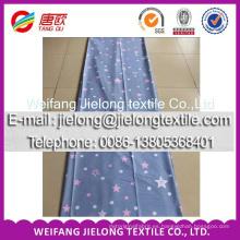 modelo de la tela de materia textil casera de algodón de la cortina de la sala de estar