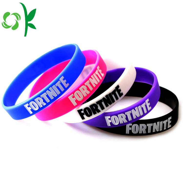 5 Color Silicone Bracelet For Ladies