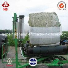 Plastique de chaîne matérielle de LLDPE 5 couches Agriculturale Film d'enveloppe d'ensilage