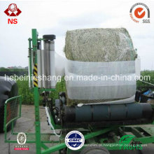 Plástico da urdidura material de LLDPE filme do envoltório da caligrafia de Agriculturale de 5 camadas