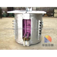 Electric furnace for aluminum melting