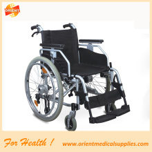 Aluminum wheelchair for elderly people