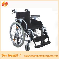 Aluminum wheelchair for elderly people
