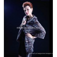 Em stock Alta qualidade acrílico senhora lenço para outono e inverno