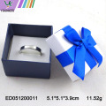Elegant Wedding Jewelry Ring Boxes Gift Packing Custom Size