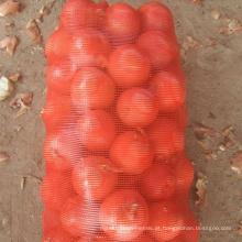 Embalagem Frutas e Vegetais Malhas com Cordão