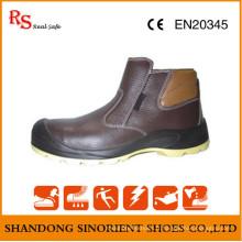 Fabriqué en Chine Bottes de travail sans dentelle RS263