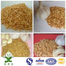 Granules d'ail frits emballés par Jinxiang Hongsheng Company