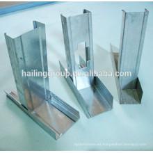 placa de metal drywall y pista con precio barato