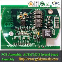 servicio y llave en mano del servicio de PCBA del servicio solar del servicio del llavero del asamblea del PWB