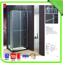 Frame da liga de alumínio ou aço inoxidável 304 porta do chuveiro