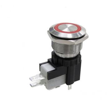 Tukar Suis 25MM kalis air Hign Current Push Button