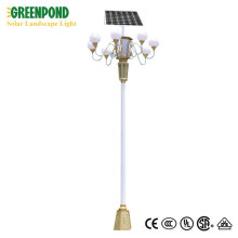 Unique Mould Design for Solar Landscape Lamp