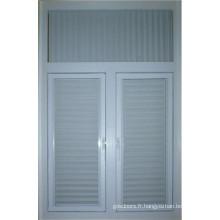 Fenêtre d'obturation en aluminium
