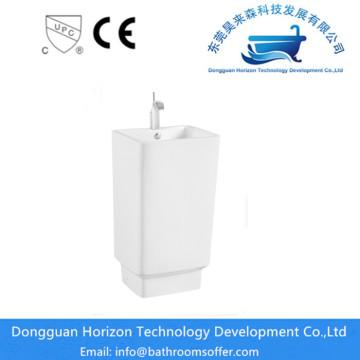 Sanitaryware rectangular wash basin
