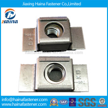 M20 stainless Steel ss304 ss316 Weld Cage Nut (lock cage nut)