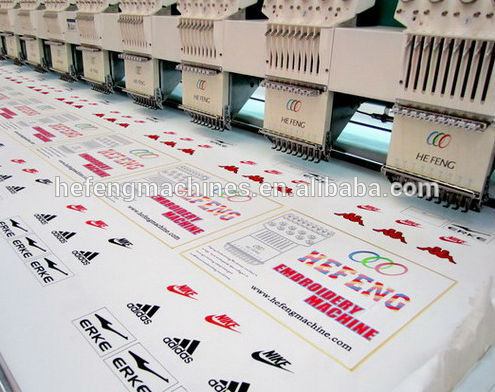6 head flat embroidery machine 1