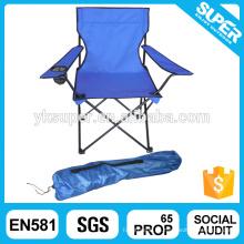 Plegable alta silla plegable de espalda, silla de camping plegable, silla de camping al aire libre plegable