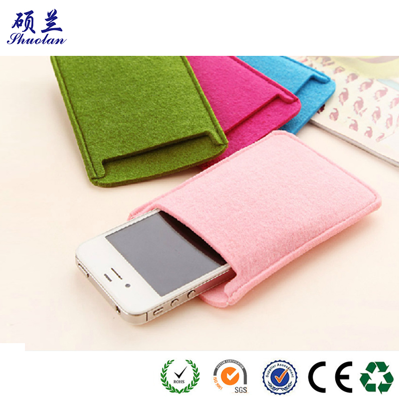 Good Quality Felt Mobile Bag