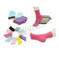 Usine d'alimentation Mesdames coton Polyester coloré chaussettes