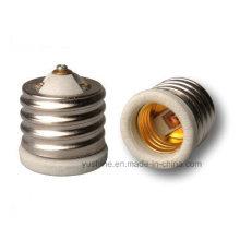 Adaptador de lâmpada E40 a E27 com corpo de porcelana