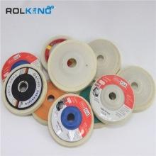 super quality and high density felt grinding wheel
