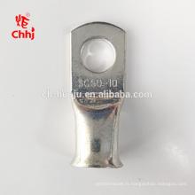 Type de sertissage en cuivre étamé Cosses de compression 50mm2 pour la connexion de fil de cuivre